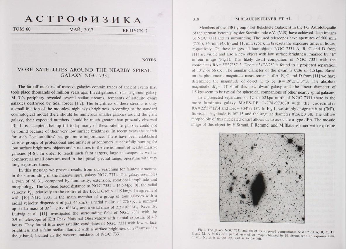 Astrofisika NGC7331 Seite1-2